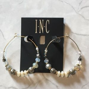 INC Gypsy Hoop Earrings